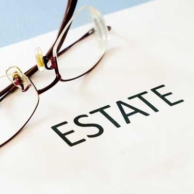 estate and glasses